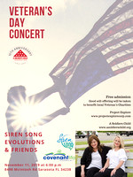 Veteran's Day Concert - Siren Song, Evolutions & Friends v6